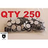 "Magnets -Economy 1/2"" Round Disc with Adhesive Backing~ 250 Pcs!"