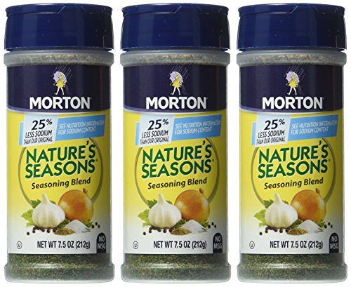 Morton Nature S Seasons  Less Sodium