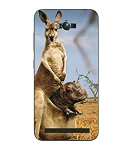 Make My Print Printed Multicolor Hard Back Cover For Asus Zephone Max