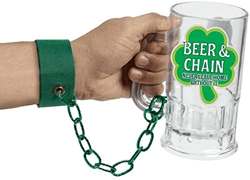 armband st pats beer & chain