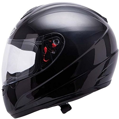 Casque moto intégral MT THUNDER SOLID - Noir