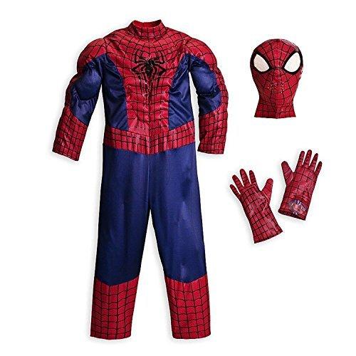 Disney Store Deluxe Amazing Spiderman Costume Halloween M Medium 7 - 8