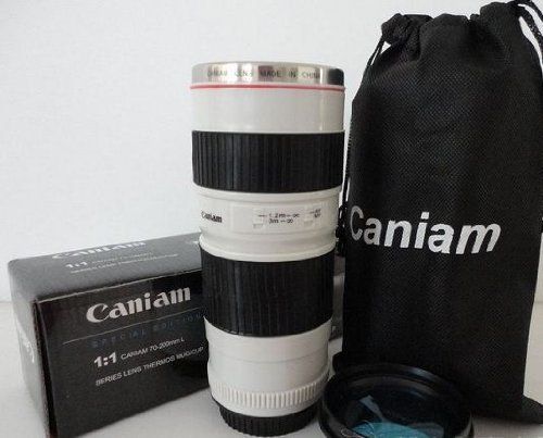 Creative Coffee Cup Simulation To Caniam 70-200Mm Lens (Stainless Steel Inside)