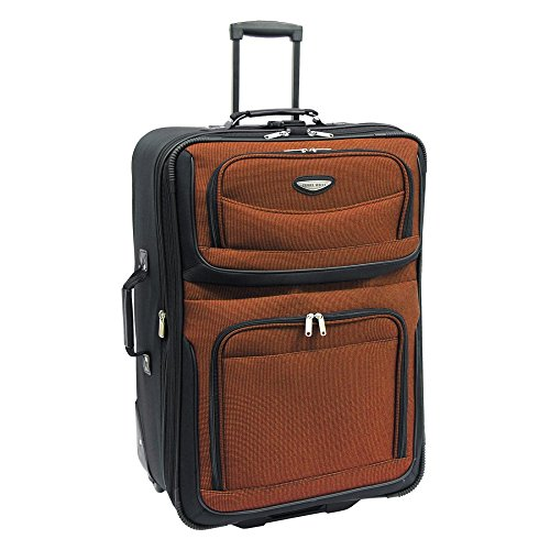 Travelers Choice Travel Select Amsterdam 29 in. Large Lightweight Expandable Rolling Upright Luggage Bag (Coleman Luggage compare prices)