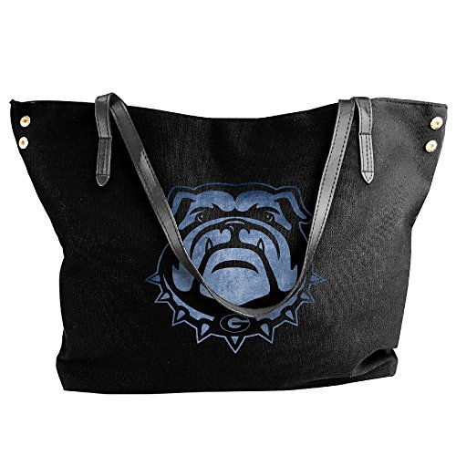georgia-bulldogs-black-pond-logos-women-shoulder-bags
