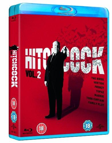 Hitchcock Vol. 2 Box Set [The Birds, Vertigo, Frenzy, Topaz, Marnie, Torn Curtain and Family Plot] [Blu-ray]