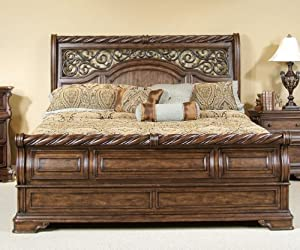 Liberty Furniture Arbor Place Sleigh Footboard Queen Bed Furniture Decor