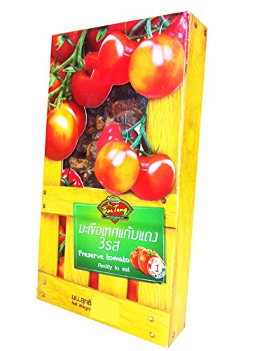2 packs of Preserve Tomato Ready to Eat 130 G, Premium Snack From Thailand. (Ziplock Single Serve compare prices)