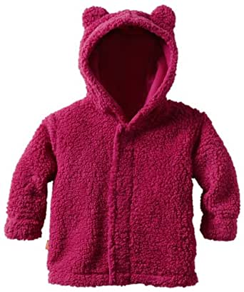Magnificent Baby Baby-Girls Infant Hooded Bear Jacket, Raspberry, 0-6 Months