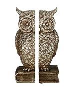 Premier Housewares Set Sujetalibros 2 Uds. Owl