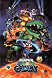 Nintendo Super Mario Galaxy Video Game Poster Print - 24x36
