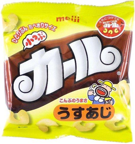 明治製菓 小つぶカールうすあじ 14g×10個