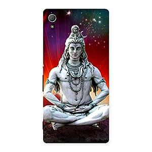 Premium Shiva Yog Back Case Cover for Xperia Z4