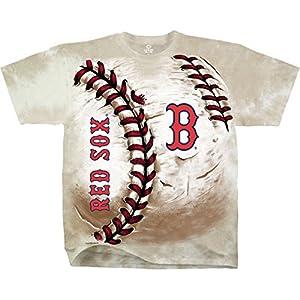 Buy Liquid Blue - MLB Boston Red Sox Hardball Tie-Dye T-Shirt by Liquid Blue