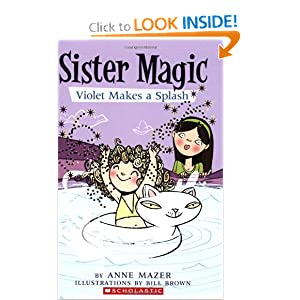 Violet Makes a Splash (Sister Magic, No. 2) by