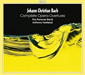 JC Bach: Complete Overtures