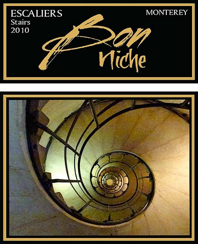 2010 Bon Niche Cellars Blend - Red Central Coast Paso Robles Escaliers, Stairs 750 Ml Bottle
