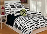 Thro Ltd. Trains Printed Microplush Twin Comforter Set, Multi