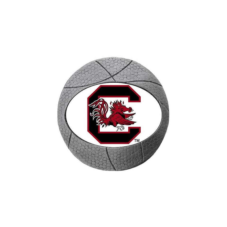 South Carolina Gamecocks NCAA Basketball One Inch Pewter Lapel Pin