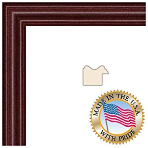 ArtToFrames 14x18 Cherry Stain on Hard Maple Picture Frame 1 Inches Wide 0066-60823-YCHY