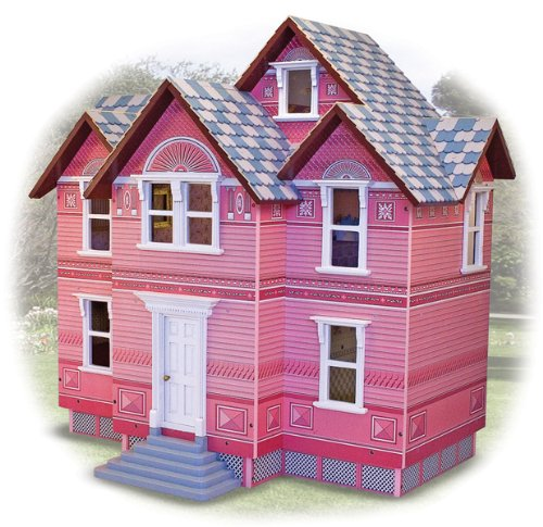 Melissa and Doug Classic Heirloom Victorian Doll House