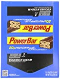 Powerbar Protein Plus 20g, Cookies and Cream, 2.15-Ounce Bars (Pack of 15)
