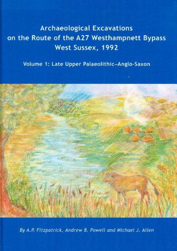 Archaeological Excavations on the Route of the A27 Westhampnett Bypass West Sussex, 1992: Volume 1: Late Upper Palaeolithic-Anglo-Saxon (Wessex Archaeology Reports)