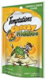 TEMPTATIONS Middles Treats for Cats Chicken and Cheese Flavor 2.47 Ounces (Pack of 12)