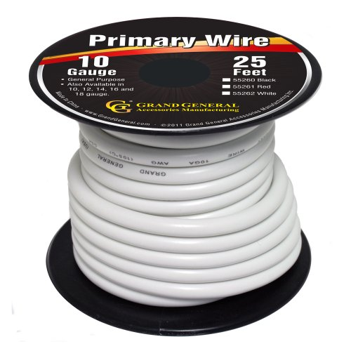 White Electrical Wire