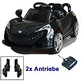 Roadster mit 2x Motoren mp3 LED Elektro Kinderauto Kinder...