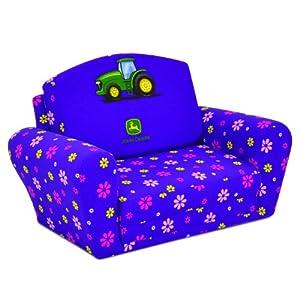 Girls Sleepover Kids Sofa in Purple from Kidz World