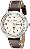 Sperry Top-Sider Men's 10018686 Largo Analog Display Japanese Quartz Brown Watch from Sperry Top-Sider Watches MFG Code
