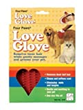 Love Glove Grooming Mitt, Red