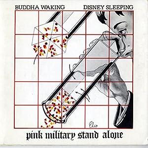 Pink Military Stand Alone - Buddha Waking Disney Sleeping