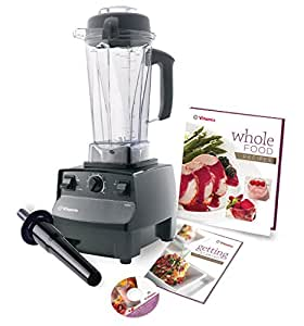 Vitamix 5200 - 7 YR WARRANTY Variable Speed Countertop Blender with 2+ HP Motor and 64-Ounce Jar Black