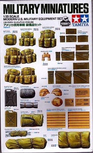 Tamiya 1/35 Modern U.S. Military Equipment Set