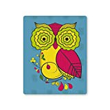 PosterGuy Owl Blue Quirky Print Funny Illustration Coffee Mug