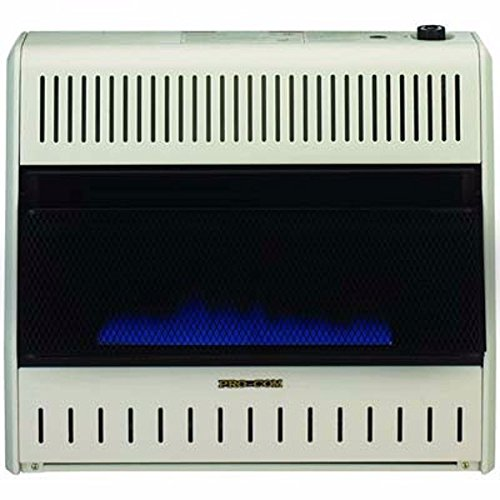 ProCom MNSD300TBA-BB Dual Propane/Natural Gas Blue Flame Vent-Free Gas Space Heaters, 30,000 BTU, Blower and Base Included (Procom Blue Flame Heater Blowers compare prices)