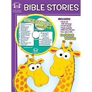 Bible Stories 48-Page Workbook & CD (I'm Learning the Bible Workbooks)