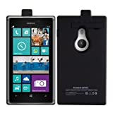 Kwmobile Battery case for Nokia Lumia 925 Capacity: 2800mAh output: 5V/500mA. Extend the battery life of your Nokia Lumia 925 by miles!