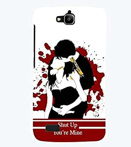 printtech Kill Dil Back Case Cover for Huawei Honor Holly
