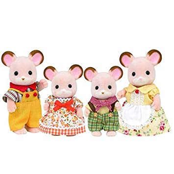 SYLVANIAN FAMILIES - FAMILIES - Field Mouse Family - 4178 by Sylvanian
