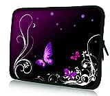 Pedea Case for 17.3 inch Laptop - Purple Butterfly