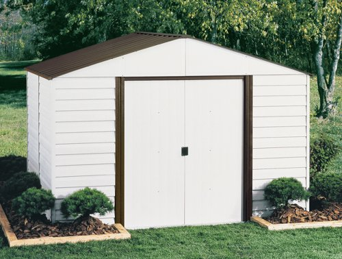 Lifetime sheds arrow shed pm108 a parkview 10 feet by 8 for Cheap metal sheds