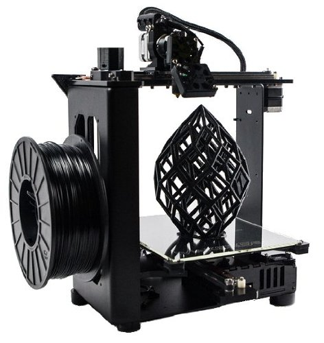 MakerGear M2 Desktop 3D Printer, Black
