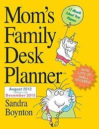 Mom's Family Desk Planner 2013
