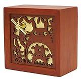 ジブリ となりのトトロ 木彫レリーフBOX型オルゴール トトロ