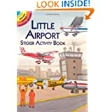 Little Airport Sticker Activity Book (Dover Little Activity Books)