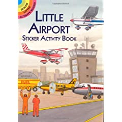 Little Airport Sticker Activity Book (Dover Little Activity Books Stickers)            Paperback                                                                                                                                                                                                                                                                                                                                                            by                                                                                                                                                                                                                                                                                                                                                                                                                                                                                                                          A. G. Smith                                                                  (Author)