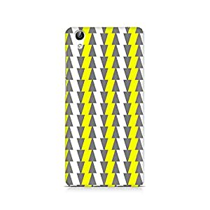 Ebby Yellow and White Cards Premium Printed Case For Vivo Y51L